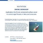 Invitation Dronic Workshop Antwerp, cover image